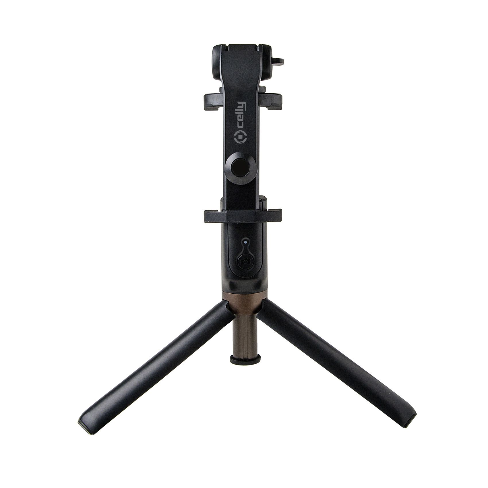 Kompaktní selfie tyč s ovladačem a stojánkem CELLY Propod, black