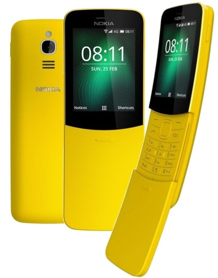 Nokia 8110 2018 DualSIM, žlutá