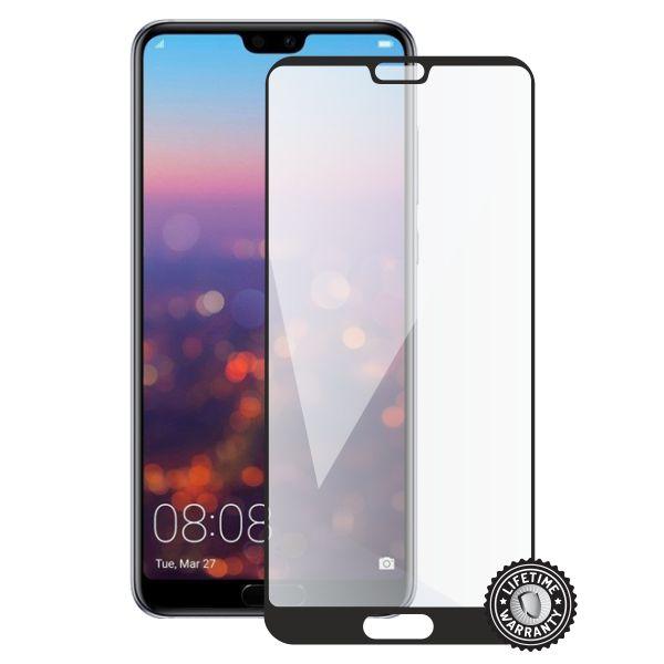 Screenshield tvrzené sklo Huawei P20 Pro, full cover, black