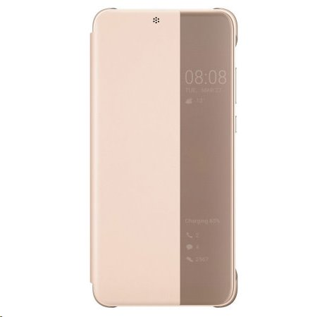 Original flipové pouzdro Huawei P20, pink