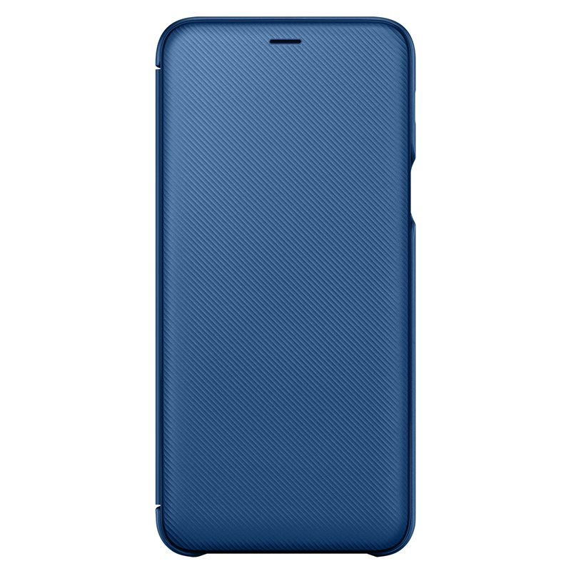 Samsung pouzdro NEON flip EF-WA605CLE pro Samsung Galaxy A6 Plus 2018 (EU Blister), blue