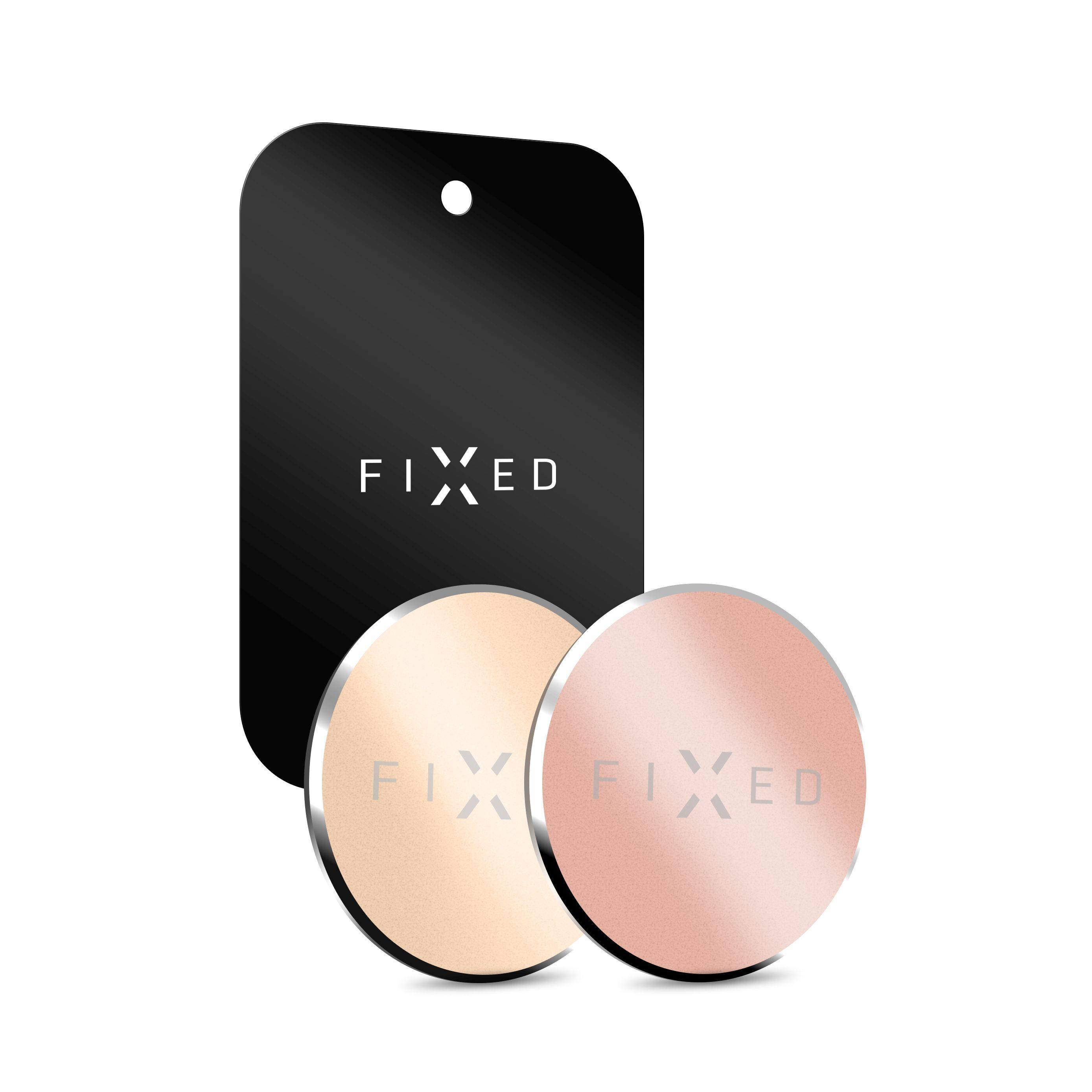 Sada 3ks podložek Fixed Magnetto pro magnetické držáky - zlatá a růžovozlatá