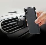Magnetické pouzdro Celly Ghostcover pro Apple iPhone X černé