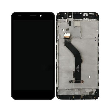 LCD + dotyk + přední rámeček pro Honor 7 lite OEM, black