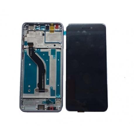 LCD + dotyk + přední rámeček pro Huawei P8 Lite 2017 OEM, black Huawei