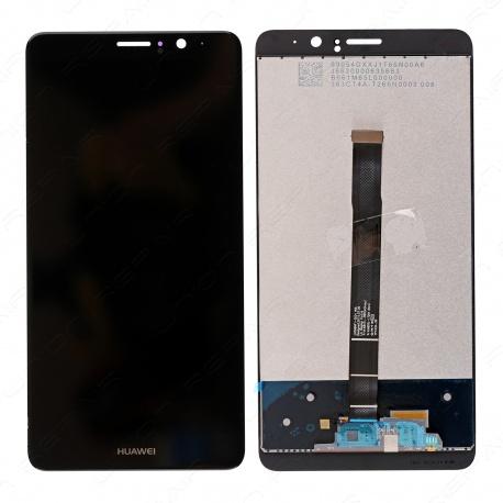 LCD + dotyk + přední rámeček pro Huawei Mate 9 OEM, black