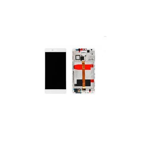 LCD + dotyk + rámeček pro Huawei Mate 8 OEM, white