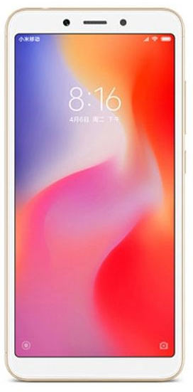 Xiaomi Redmi 6A Global 2GB/16GB zlatá
