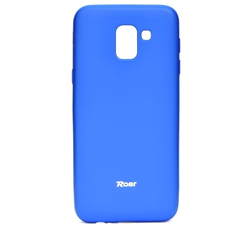 Pouzdro Roar Colorful Jelly Case Samsung Galaxy J6 (SM-J600), modrá