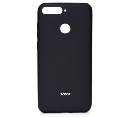 Pouzdro Roar Colorful Jelly Case pro Huawei Y6 Prime 2018, černá