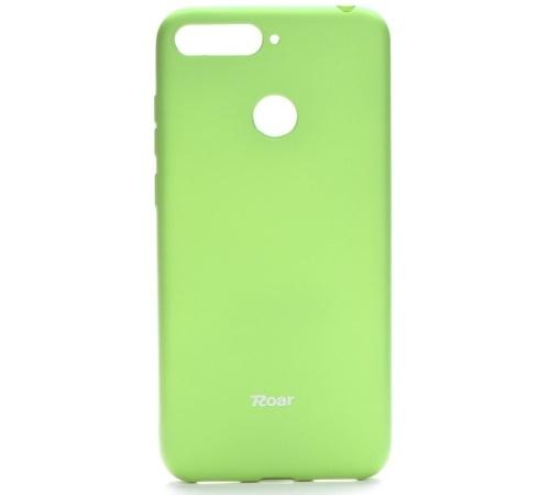 Pouzdro Roar Colorful Jelly Case pro Huawei Y6 Prime 2018, limetková