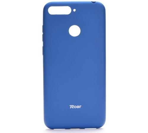 Pouzdro Roar Colorful Jelly Case pro Huawei Y6 Prime 2018, modrá