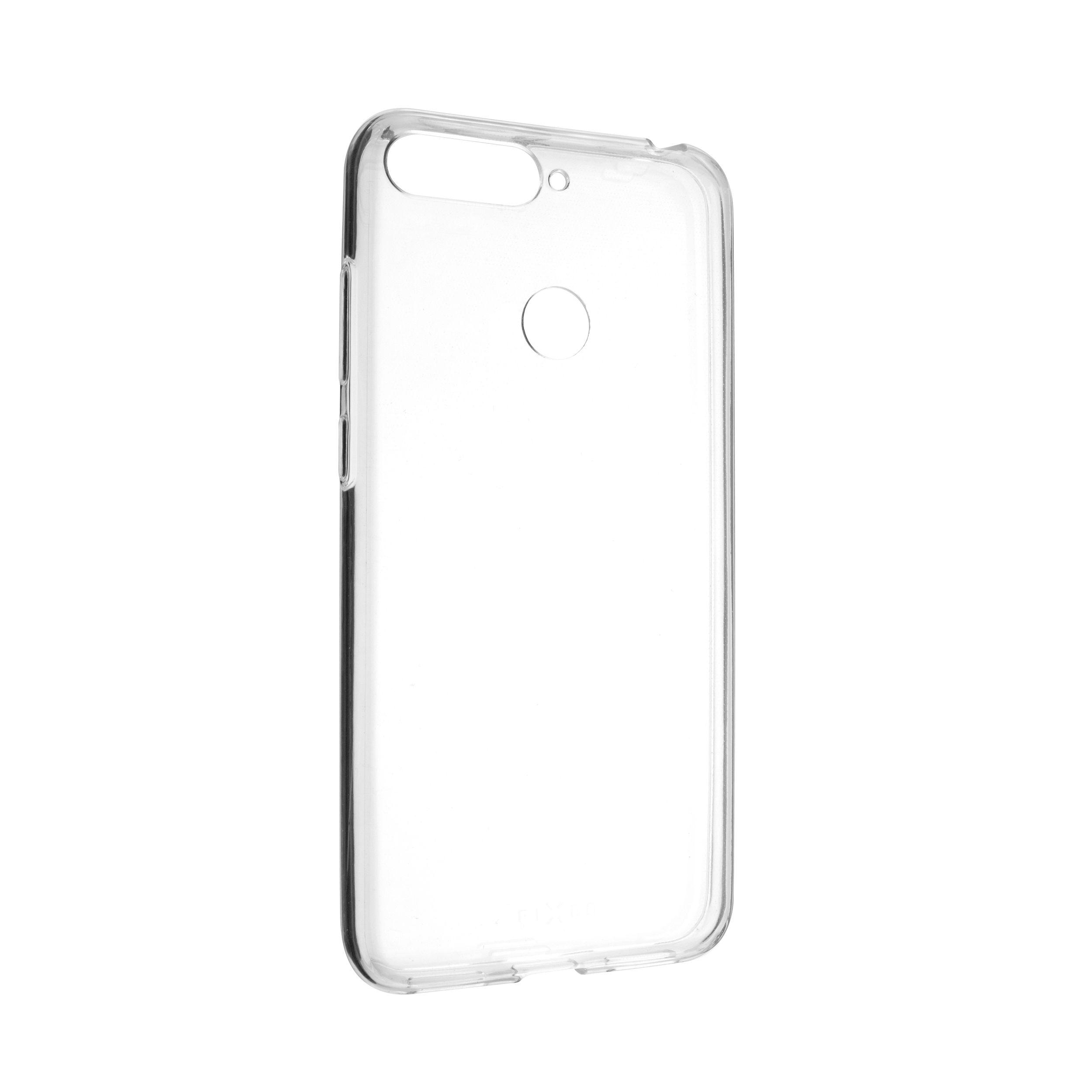 Ultratenké TPU gelové pouzdro FIXED Skin pro Huawei Y6 Prime (2018), 0,6 mm, čiré