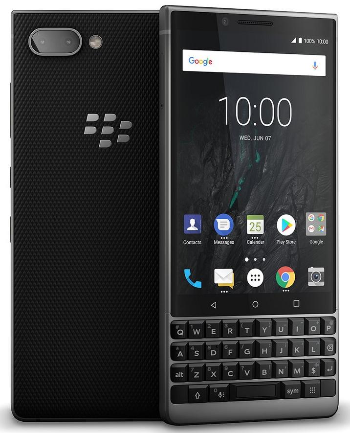 Blackberry Key2 Athena SingleSIM 6GB/64GB stříbrná