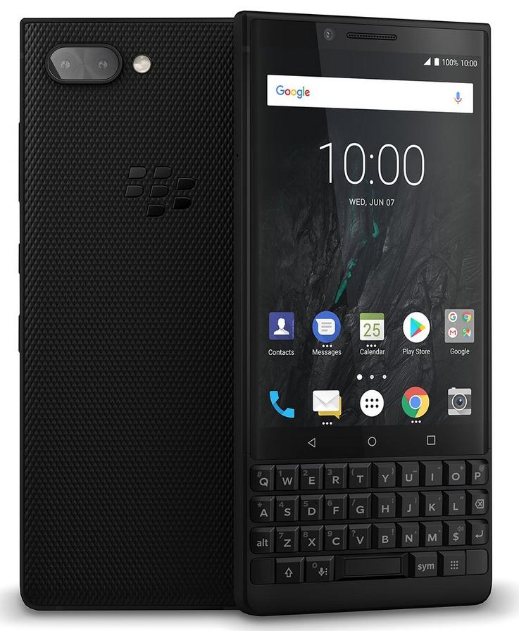 QWERTY smartphone Blackberry Key2