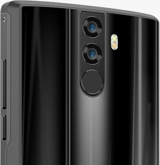 Telefon s duálním fotoaparátem Doogee BL12000
