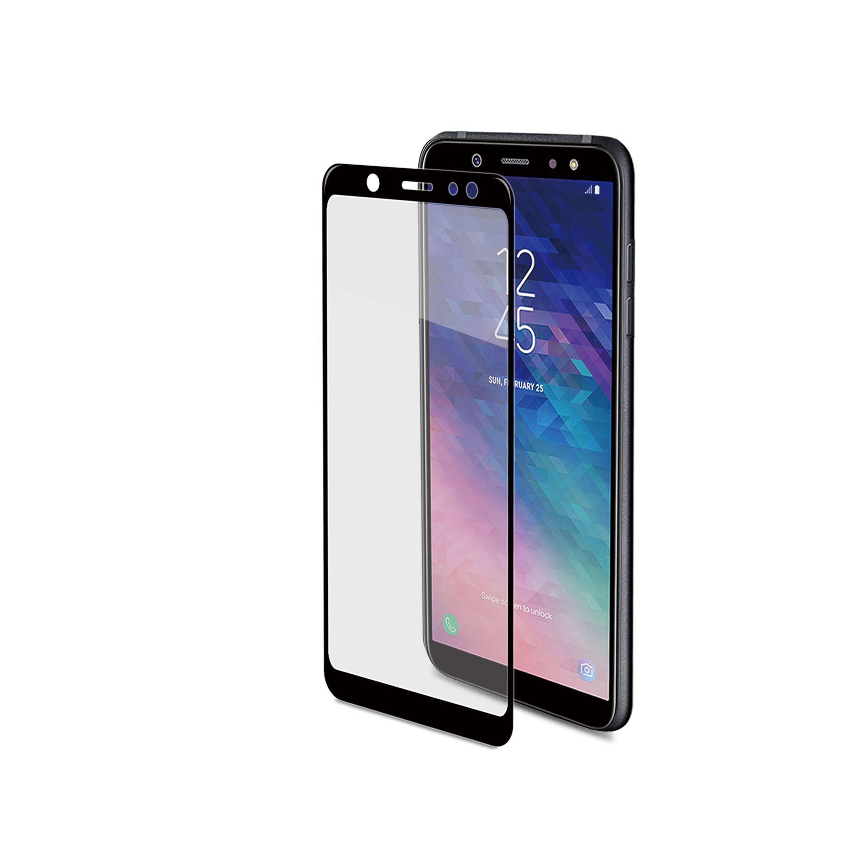Tvrzené sklo Celly Full Glass pro Samsung Galaxy A6+ (2018) černé