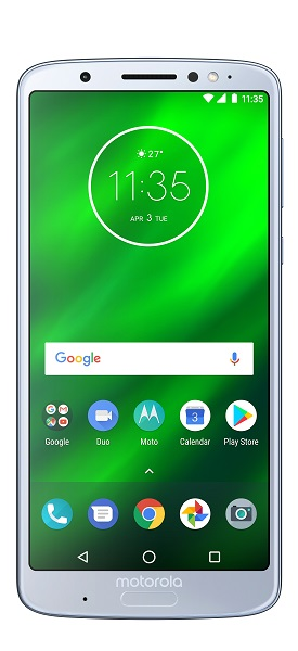 Motorola Moto G6 Plus SingleSIM modrá