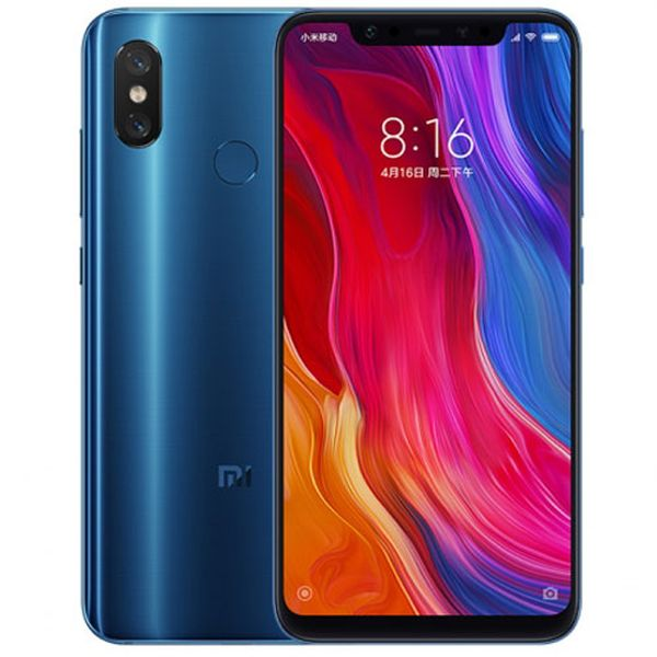 Xiaomi Mi 8 Global 6GB/64GB modrá