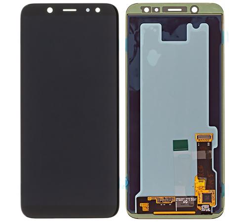 LCD + dotyk pro Samsung Galaxy A6 2018 černá