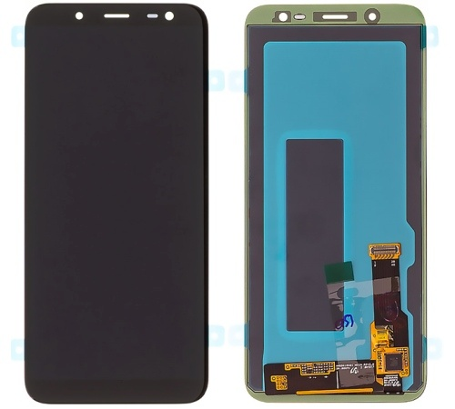 LCD + dotyk pro Samsung Galaxy J6 2018 (J600) černá