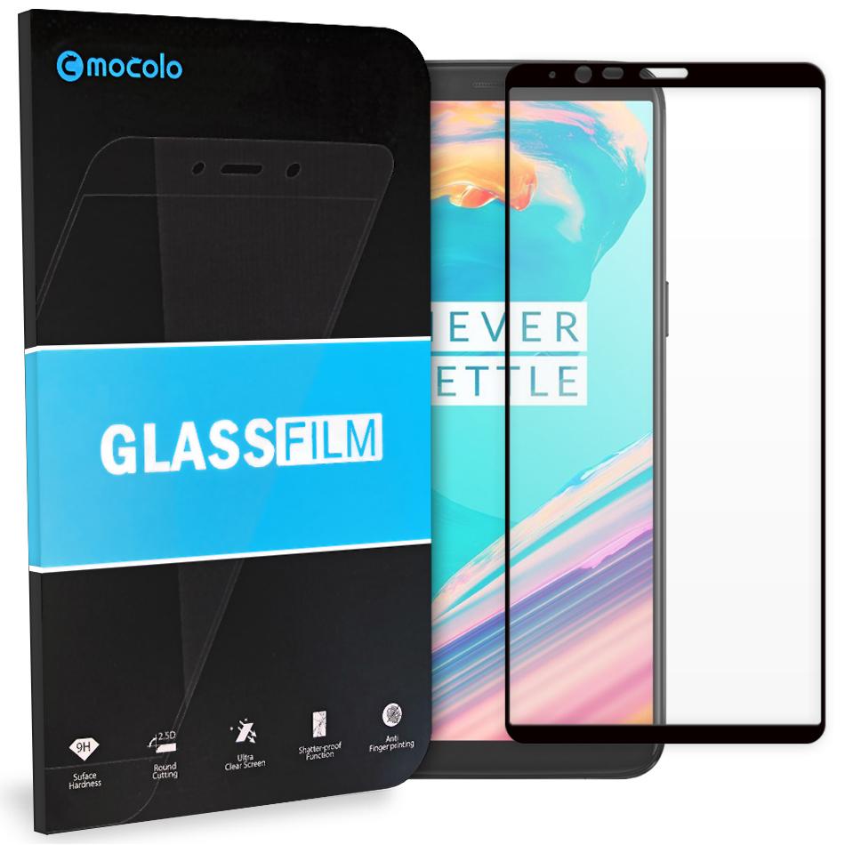 Tvrzené Sklo Mocolo 5D pro Samsung Galaxy S9 (G960) černé