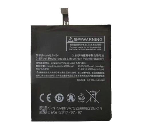Baterie Xiaomi BN34 3000mAh Li-Ion (BULK)