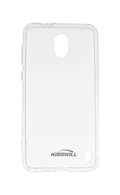 Silikonové pouzdro Kisswill pro Huawei Nova 3, transparent