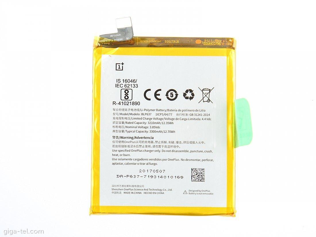 Baterie BLP637, 3300mAh Li-Pol