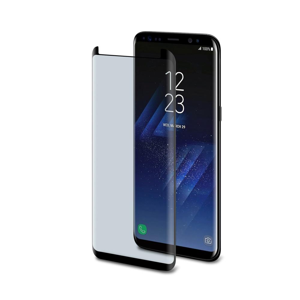 Ochranné tvrzené sklo Celly Glass antiblueray pro Samsung Galaxy S8