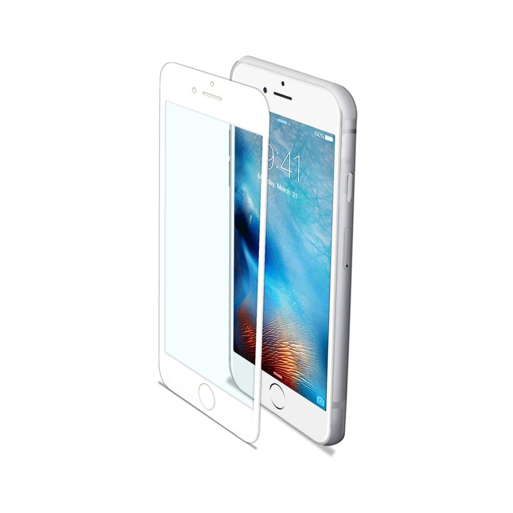 Ochranné tvrzené sklo Celly Glass antiblueray pro Apple iPhone 7 / iPhone 8 bílé