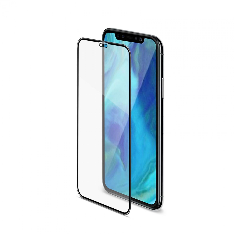 Ochranné tvrzené sklo Celly 3D Glass pro Apple iPhone XS Max/11 Pro Max, černé