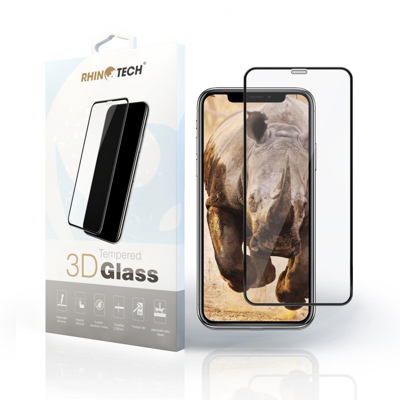 Tvrzené 3D sklo RhinoTech pro Apple iPhone X/XS/11 Pro