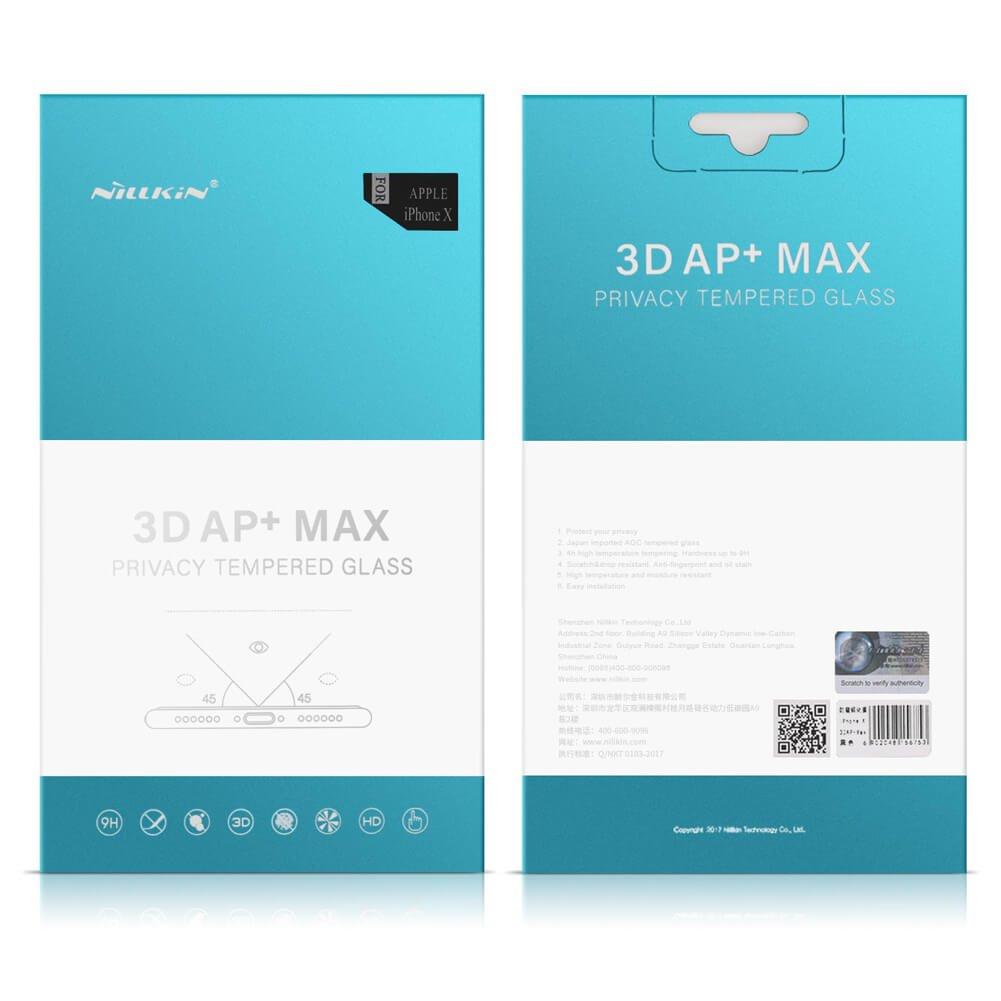 Nillkin tvrzené sklo 3D pro Apple iPhone 7/8, black