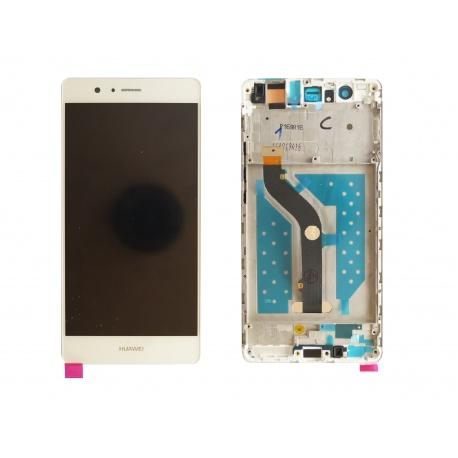 LCD + dotyk + rámeček pro Huawei G9 OEM, white