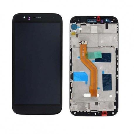 LCD + dotyk + rámeček pro Huawei G8 OEM, black
