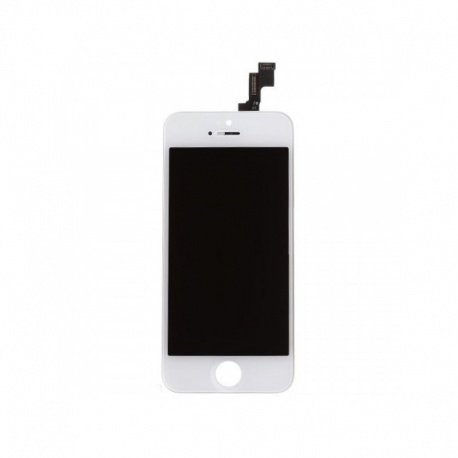 LCD + dotyk. deska pro Apple iPhone 5S/SE, white (Refurbished)