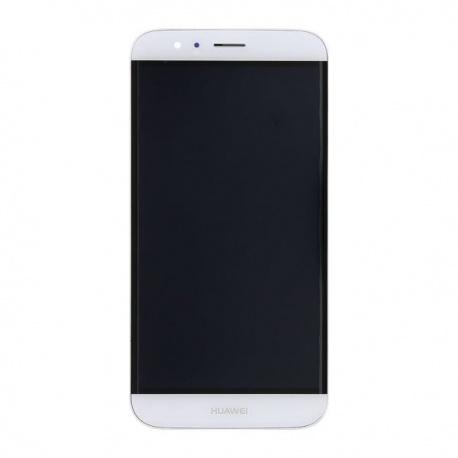 LCD + dotyk + rámeček pro Huawei G8 OEM, white
