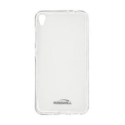 Silikonové pouzdro Kisswill pro Asus Zenfone Max Pro ZB602KL, čiré