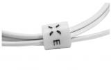 Autonabíječka FIXED + microUSB kabel, 2,4A bílá