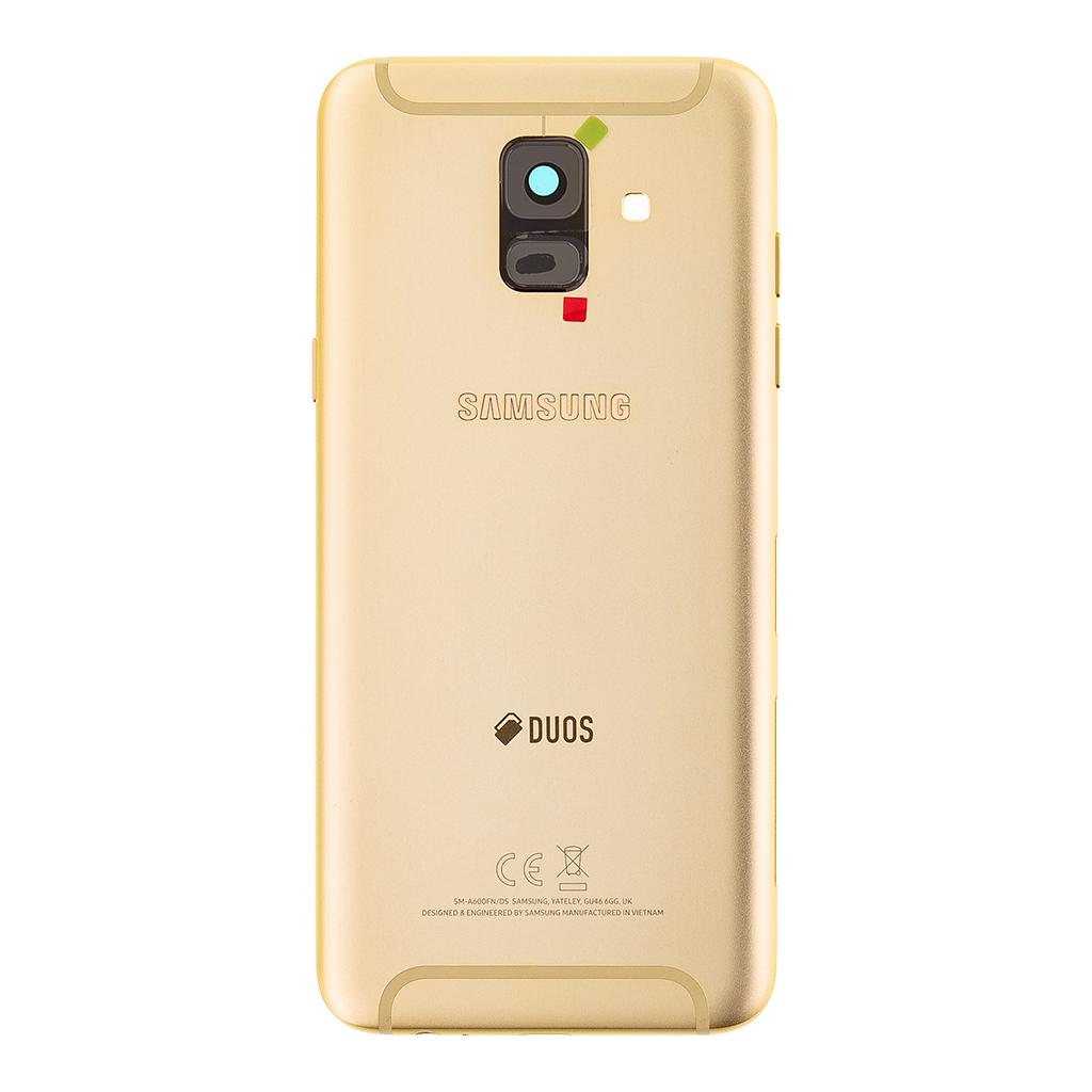 Zadní kryt baterie na Samsung Galaxy A6 A600 2018, gold (Service Pack)