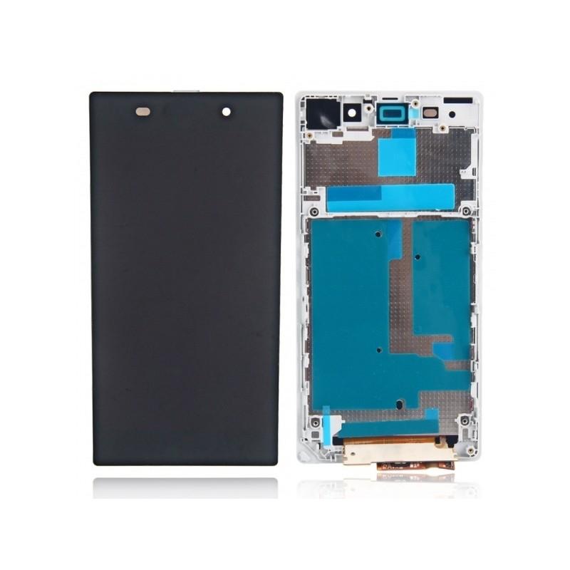 LCD + dotyk + rámeček pro Sony Xperia L1, white