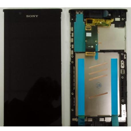 LCD + dotyk + rámeček pro Sony Xperia L1, black