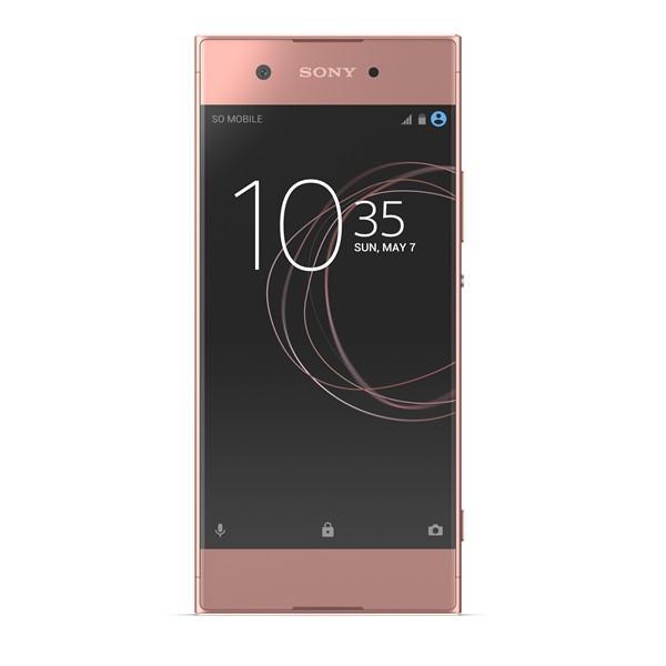 LCD + dotyk + rámeček pro Sony Xperia XA1, rose
