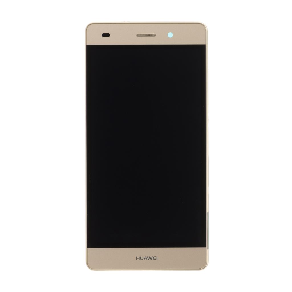 LCD + dotyk + rámeček pro Huawei Y6 2017 OEM, gold