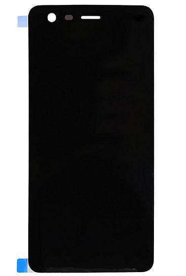LCD + dotyk + rámeček pro Huawei Y6 2017 OEM, black