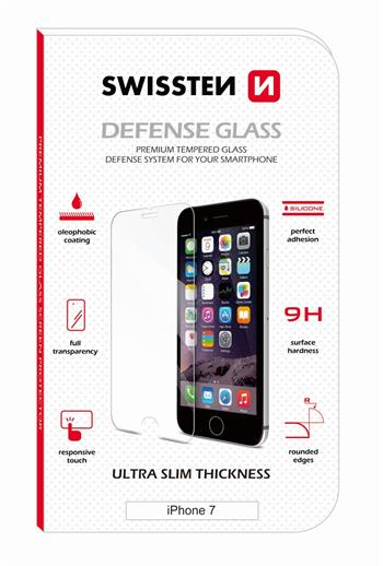 Tvrzené sklo SWISSTEN 2,5D Apple iPhone X/XS