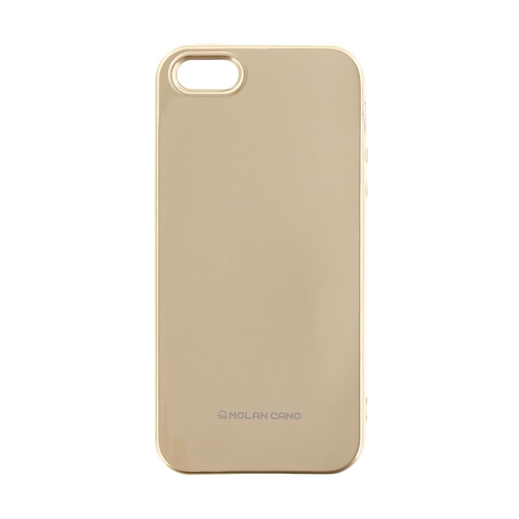Molan Cano Jelly TPU Pouzdro pro Apple iPhone XS Max Gold