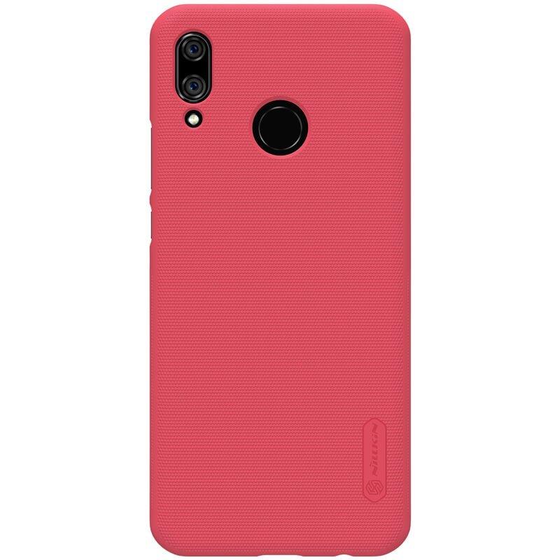 Nillkin Super Frosted kryt + fólie Huawei Nova 3i, red