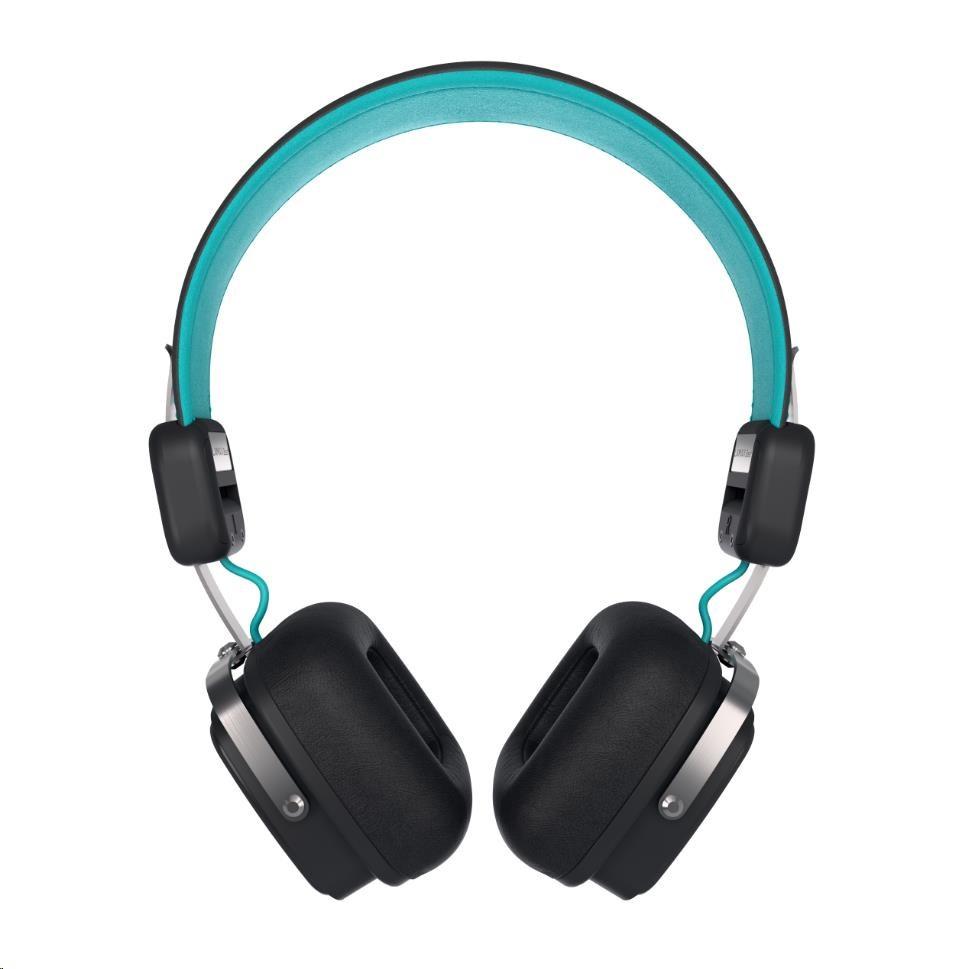 Bezdrátová sluchátka LAMAX Elite E-1 tyrkysové